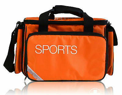 New Padded Medical Physio Sports Bag in Hi Viz Orange/Black & Reflectors