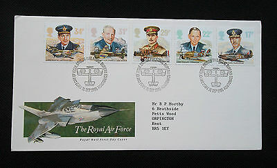 Stamps.1986.   First Day Cover.  History Of The Royal Air Force
