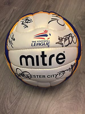 Leicester City 2007/08 Squad Signed Autographed Mitre Soccer Ball