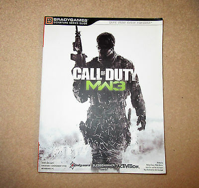 CALL OF DUTY MW3 STRATERGY GUIDE for Play Station 3,Xbox 360 and Windows pc.