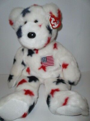 Ty Beanie Buddy, Glory the Bear, with hang tag