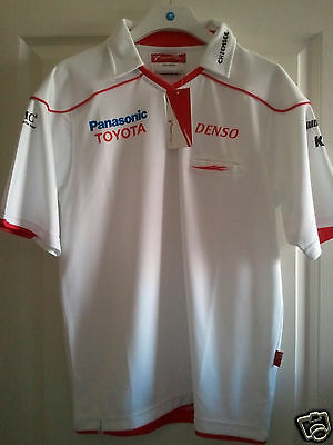 FORMULE 1 SCHUMACHER - TOYOTA PANASONIC RACING F1 Polo taille L