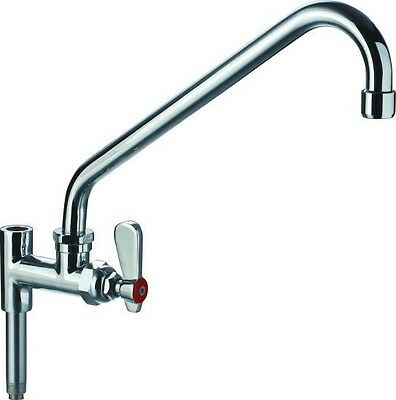 """AT Faucet Commercial Pre-Rinse 12"""" Add-On Faucet NSF Certified & Low Lead"""