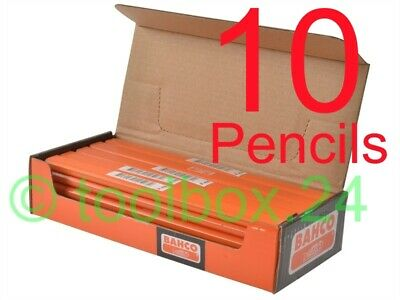 10 x Bahco HB Grade Joiners Pencils, Builders, Carpenters, Woodwork, Woodworking
