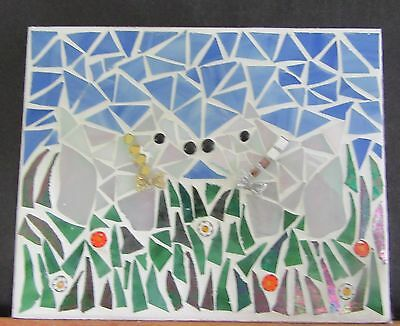 """Stained Glass Mosaic, """" Wee Westies,"""""""