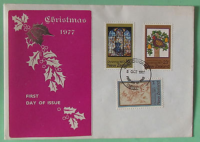 Austrialian Postage Stamps Envelop FDC Christmas 1977  used