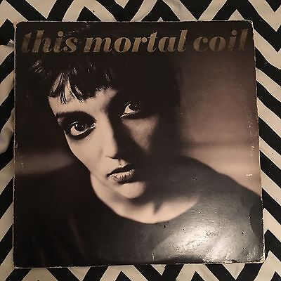 This Mortal Coil - Blood LP 4AD Cocteau Twins UK First Pressing