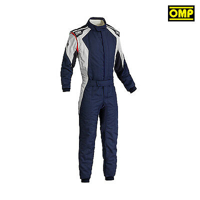 2016 OMP FIRST EVO Rally Suit navy blue (with FIA homologation) s. 56