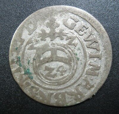 Hungary 1 Denarius 1524 Silver King Louis Ii Croatia Bohemia Ottomans Money Coin