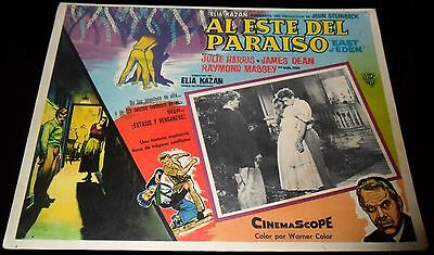 1955 East Of Eden ORIGINAL MEXICAN LOBBY CARD James Dean Elia Kazan B