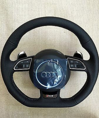 Audi steering wheel RS6 RS7 performance paddles shift s-tronic