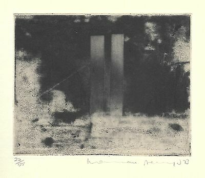 Norman Ackroyd RA Original Etching 1973 pencil signed numbered Edition of 125