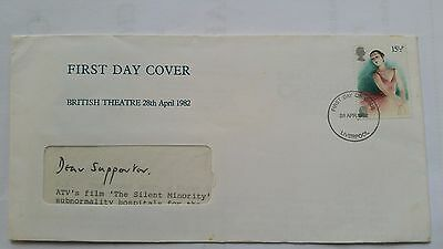 First Day Cover British Theatre 28th April 1982