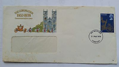 First Day Cover Coronation 25th anniversary 31st May 1978