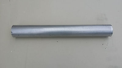"3"" Staight 16ga Aluminized Mandrel Bend Exhaust Tubing Down Pipe"