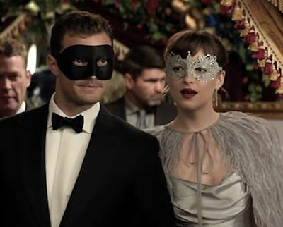 Fifty Shades Darker Couples Set Sensual Lace Costume and Black Masquerade Mask