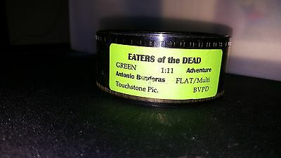 Antonio Banderas - Eaters of the Dead (The 13th Warrior) Trailer 35mm Film Flat