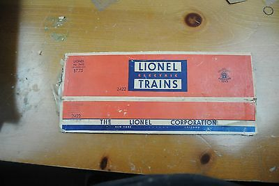 Lionel 2422 Chatham Pullman Car Box Only