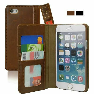Case Cover For iPhone 6 Plus / 6s Plus Leather Vintage Wallet Book Style Khomo