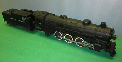 American Flyer: Vintage CNW 4-6-2 Locomotive #287, physically in good condition