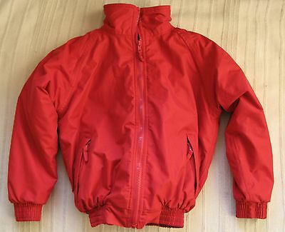Kids Tagg Riding Blouson | Red | Size Small