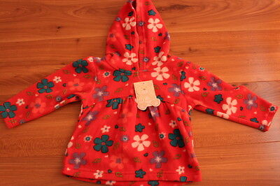 Tiny Ted girls fleece hoodie 12-18 months NEW *I'll combine postag