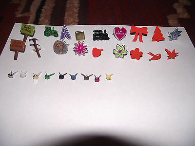Cardmaking Brads - Job Lot Over 450 - Special Ones Included - See Pictures