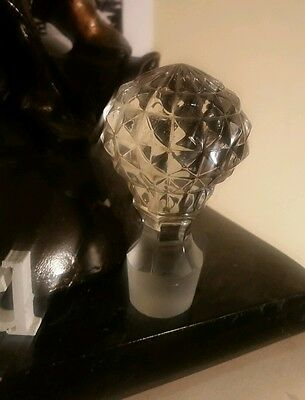 Crystal decanter lid  / top