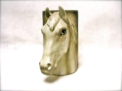 Vintage 1960s Horse Head Bookend - Right Side