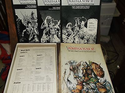 1st Edition Warhammer FB 1982: The Mass Combat Fantasy Battle Role-Playing Game