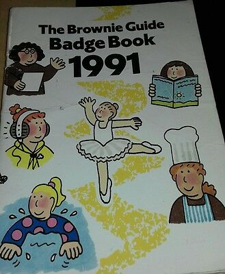 The Brownie Guide Badge Book 1991 -
