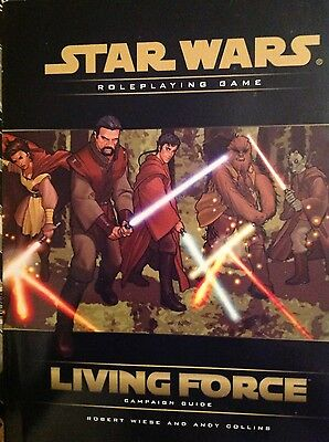 Starwars Roleplaying Game Living Force Compaign Guide