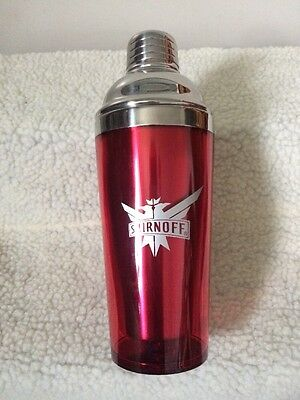 "A Lovely 9"" Smirnoff Cocktail Shaker"