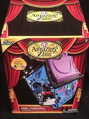 Amazing Zhus Magician Pet Magician House Blue Brand New In Box