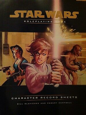 Star Wars Roleplaying Game Character Record Sheets