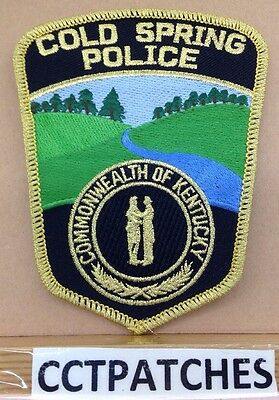 Cold Spring, Kentucky Police Shoulder Patch Ky