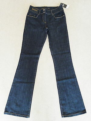 New With Tags Next Dark Blue Smart Bootcut Jeans Size 8L