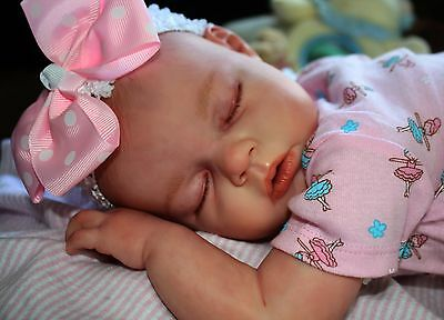 Reborn Newborn Doll CUSTOM NOAH Asleep Kit by R.Schick Baby Boy or Girl 0-3 mos