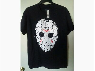 Friday The 13Th Black  Short Sleeve T-Shirt *new *size: Large