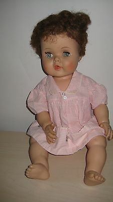 """toodles"" Vintage 1950's American Character  Doll 20"" Flirty Eyes Rooted Hair"