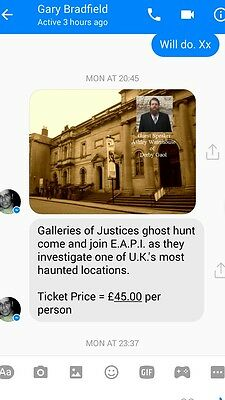EAPI would like you to join us on this ghost hunt