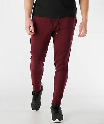 Nike Tech Fleece Pants Team Red,black,heather 545343-677 Mens Size Medium