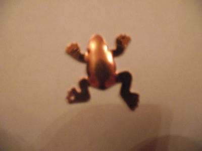 Collection Of Eight 3D Frogs Copper Blanks For Jewellery Making Enamelling