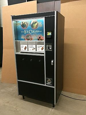 Rowe 487 / National Ice Cream Vending Machine 3 Selection Excellent Condition