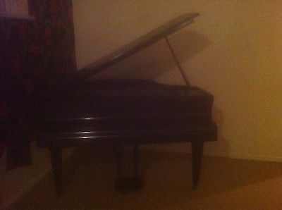 Spencer of london brown baby grand piano