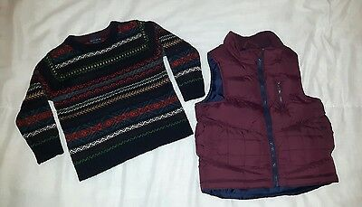 boys jumper and gilet 2-3 years