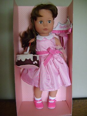 Pottery Barn Kids Gotz Limited Edition Birthday Doll Peyton ~ RARE,SOLD OUT @PBK