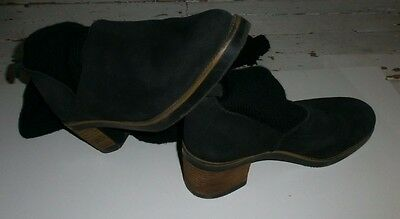 Women's Black over the Knee Boots: Size 4/ 37