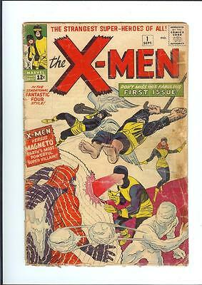 X-Men #1 ~ Origin and 1st appearance by Stan Lee & Jack Kirby 1963 ~ Solid copy!