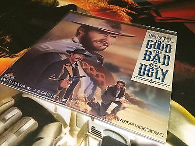 The Good The Bad and The Ugly - NTSC laserdisc - 2 discs